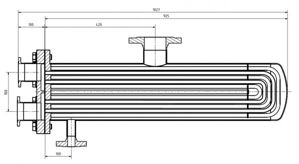 Rohrbündelwärmetauscher 203-ECOline